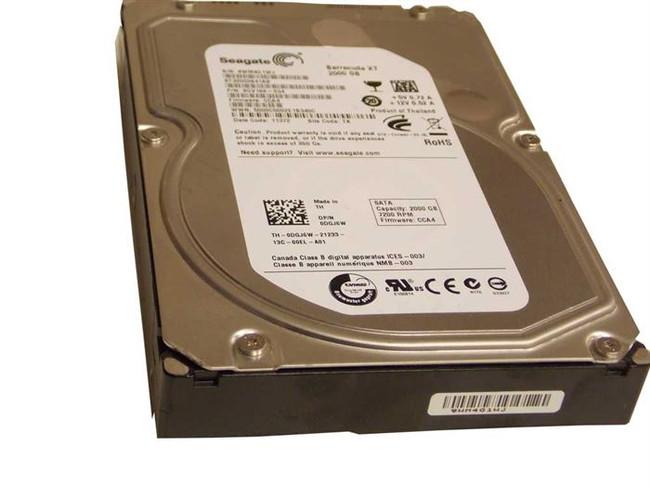 """Dell DGJ6W Hard Drive 2TB 7.2K SATA 3.5"""""""