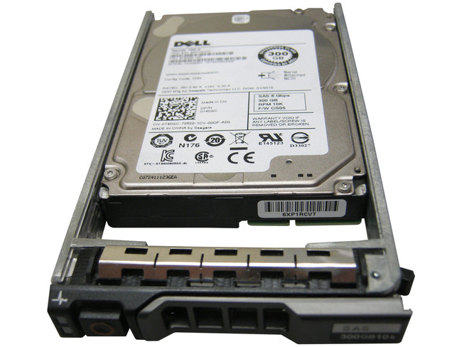 "Dell 342-2012 Hard Drive 300GB 10K SAS 2.5"" in Tray"