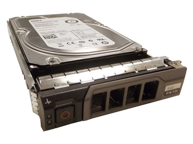 "Dell Hard Drive 2TB 7.2K SAS 3.5"" in Tray"