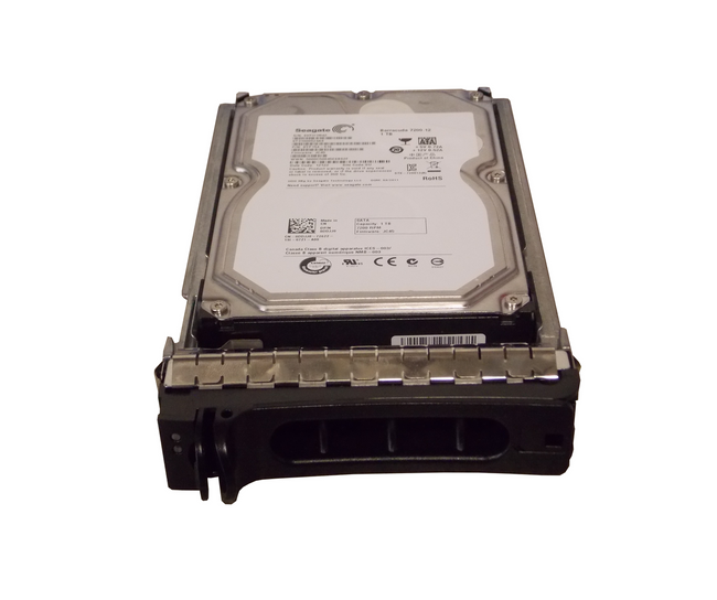 "Dell DDJJ0 Hard Drive 1TB 7.2K SATA 3.5"" in Tray"