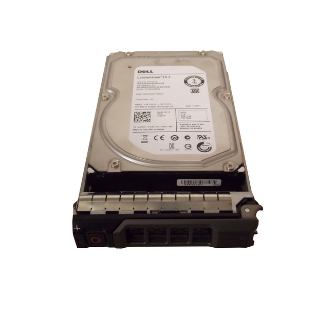 "Dell JDC7P Hard Drive 3TB 7.2K SATA 3.5"" in Tray"