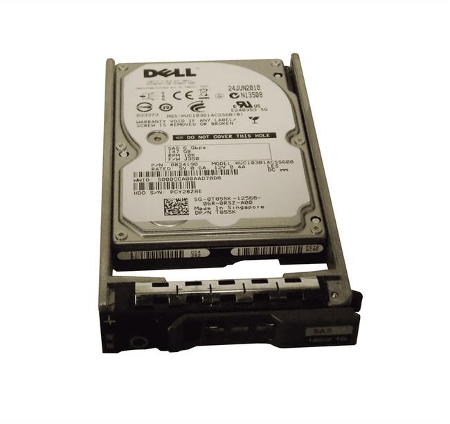 "Dell T855K Hard Drive 146GB 10K SAS 2.5"" in Tray"
