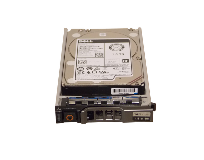 "Dell VJ7CD Hard Drive 1.8TB 10K SAS 2.5"" in Tray"