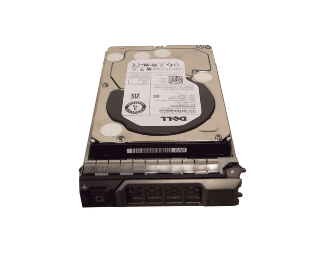 "Dell J2W28 Hard Drive 3TB 7.2K SATA 3.5"" in Tray"