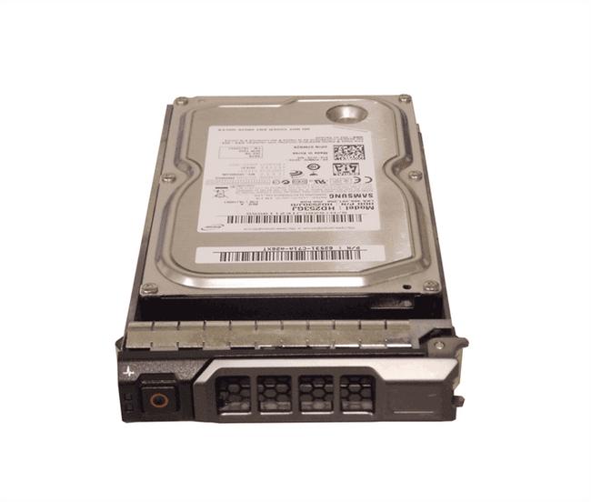 """Dell TMN2K Hard Drive 250GB 7.2K SAS 3.5"""" in Tray"""