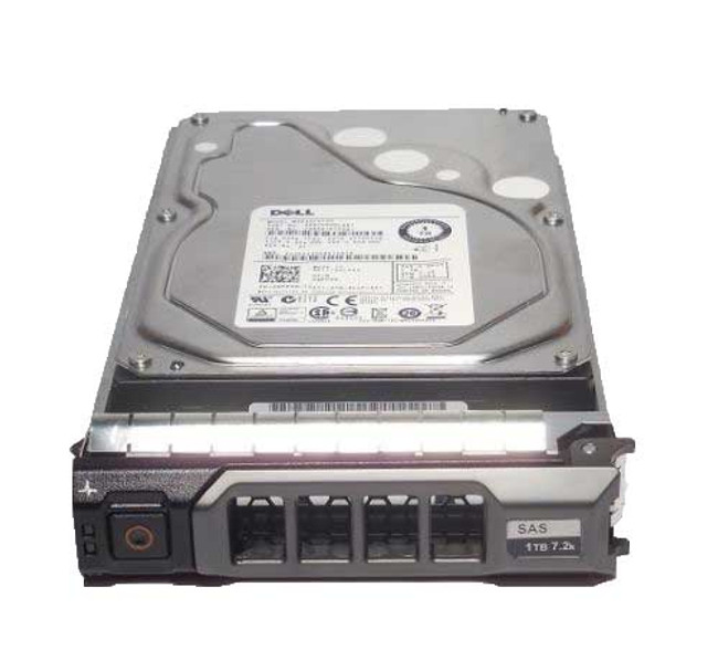 "Dell 400-AEFI  Hard Drive 1TB 7.2K SAS 3.5"" in Tray"