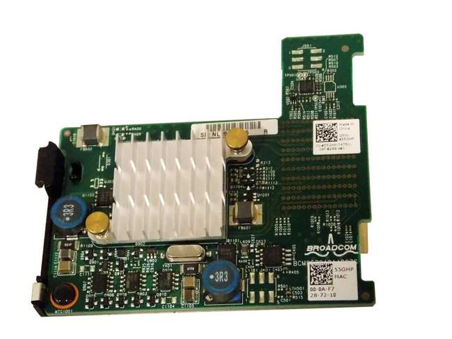 Dell 55GHP M620 M820 10GBE Broadcom 57810S Mezzanine