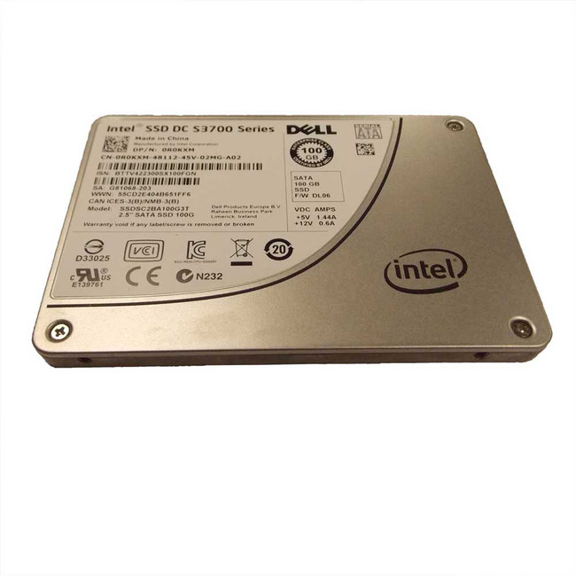Dell R0KXM Hard Drive 100gb SATA SSD