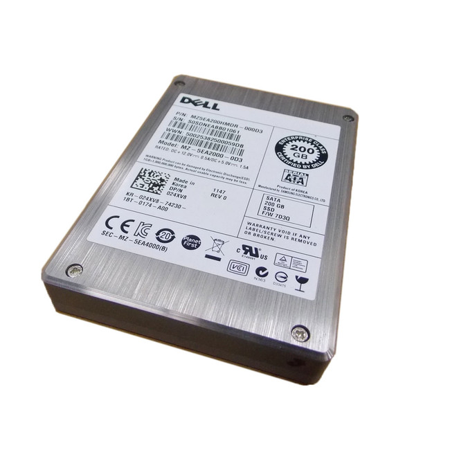 Dell 24XV8 Hard Drive 200GB SSD SAS 2.5""