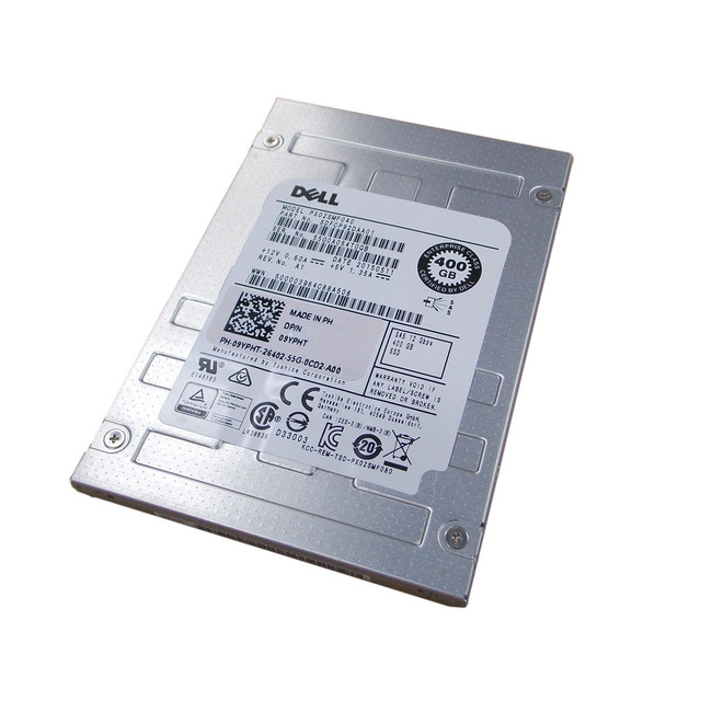 Dell  9YPHT Hard Drive 400GB SSD SAS  2.5""
