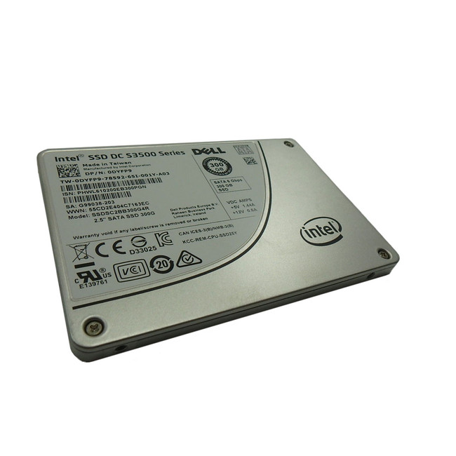 Dell DYFP9 Hard Drive 300GB  SSD SATA 2.5""