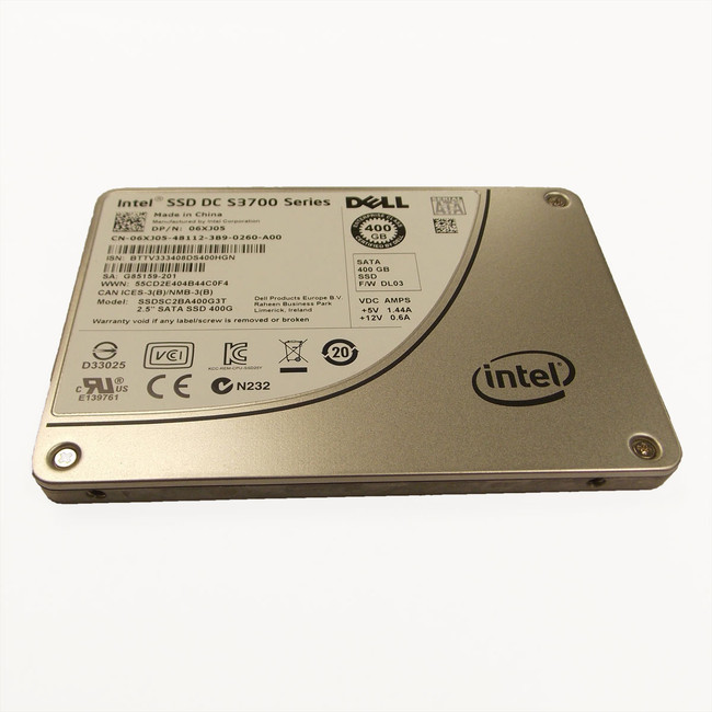 Dell 6XJ05 Hard Drive 400GB SATA SSD