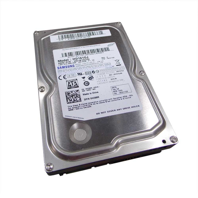 Dell H298M Hard Drive 160gb 7.2K SATA 3.5""