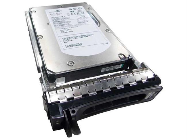 """Dell RY491 Hard Drive 146GB 15K SAS 3.5"""" in Tray"""