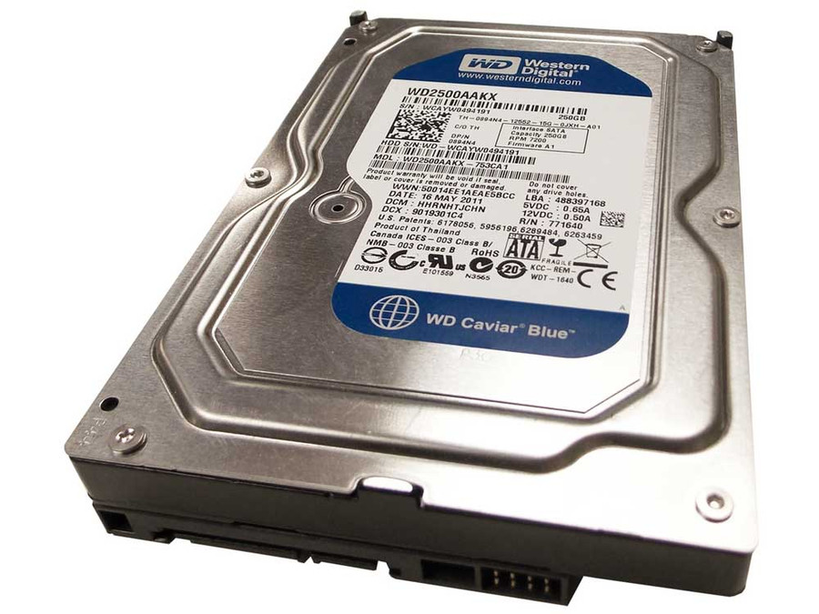 Dell 894N4 Hard Drive 250GB 7.2K SATA 3.5""