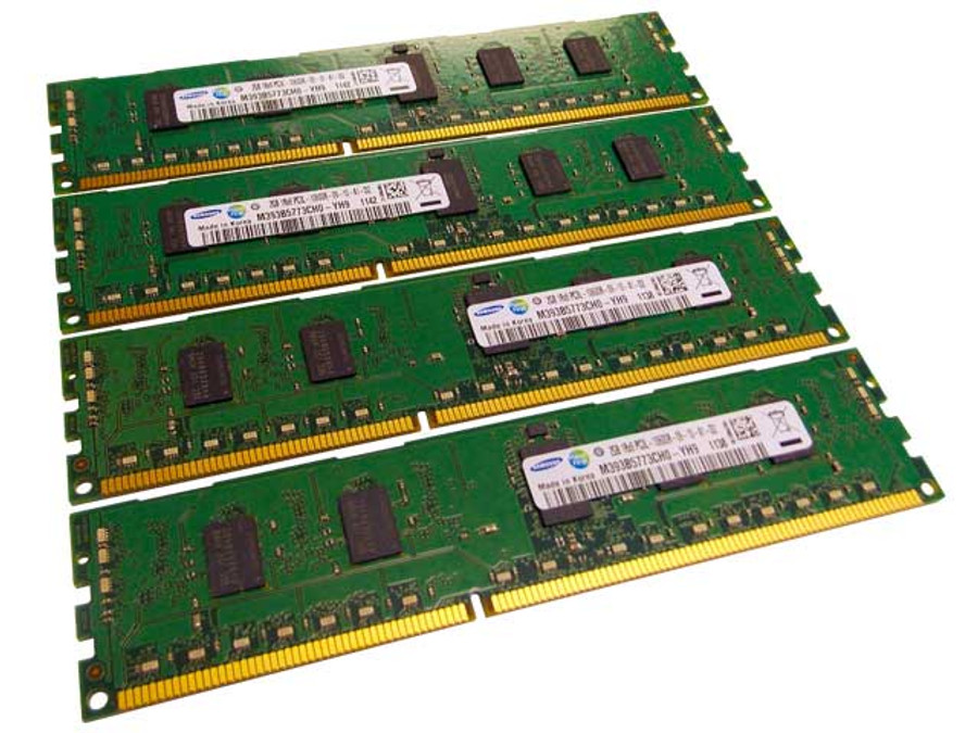 Dell 317-9072 Memory 8GB PC3L-10600R 1Rx8 - 4 Pack