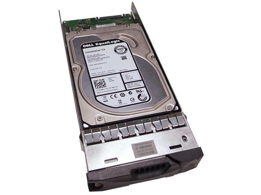 "EqualLogic PJ0MR Hard Drive 500GB 7.2K SATA 3.5"" in Tray"