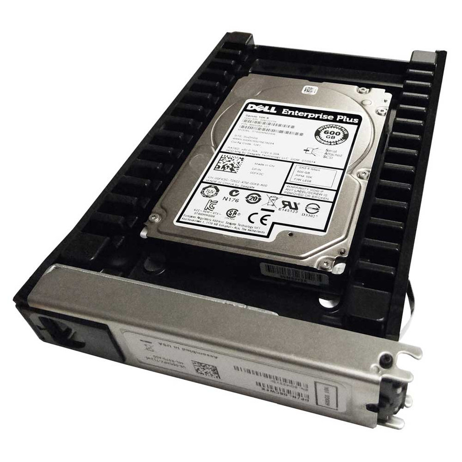"EqualLogic 0FK3C Hard Drive 600GB 10K SAS 2.5"" in Tray"