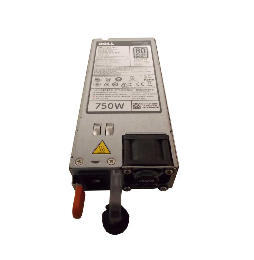 Dell 79RDR Redundant Power Supply 750W