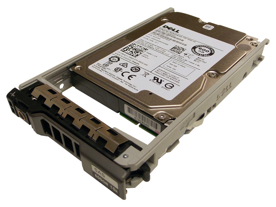 """Dell 400-AJRF Hard Drive 600GB 15K SAS 2.5"""" in Tray"""
