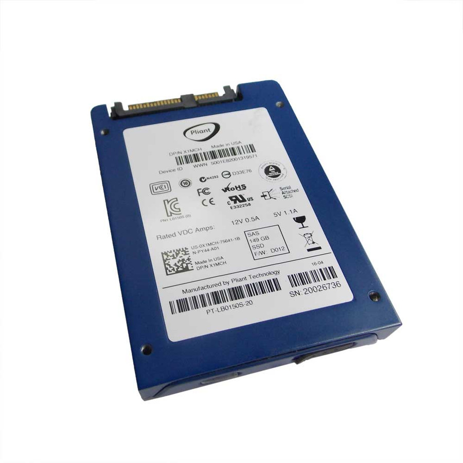 "Dell X1MCH Hard Drive  800GB SATA SSD 2.5"" in Tray"