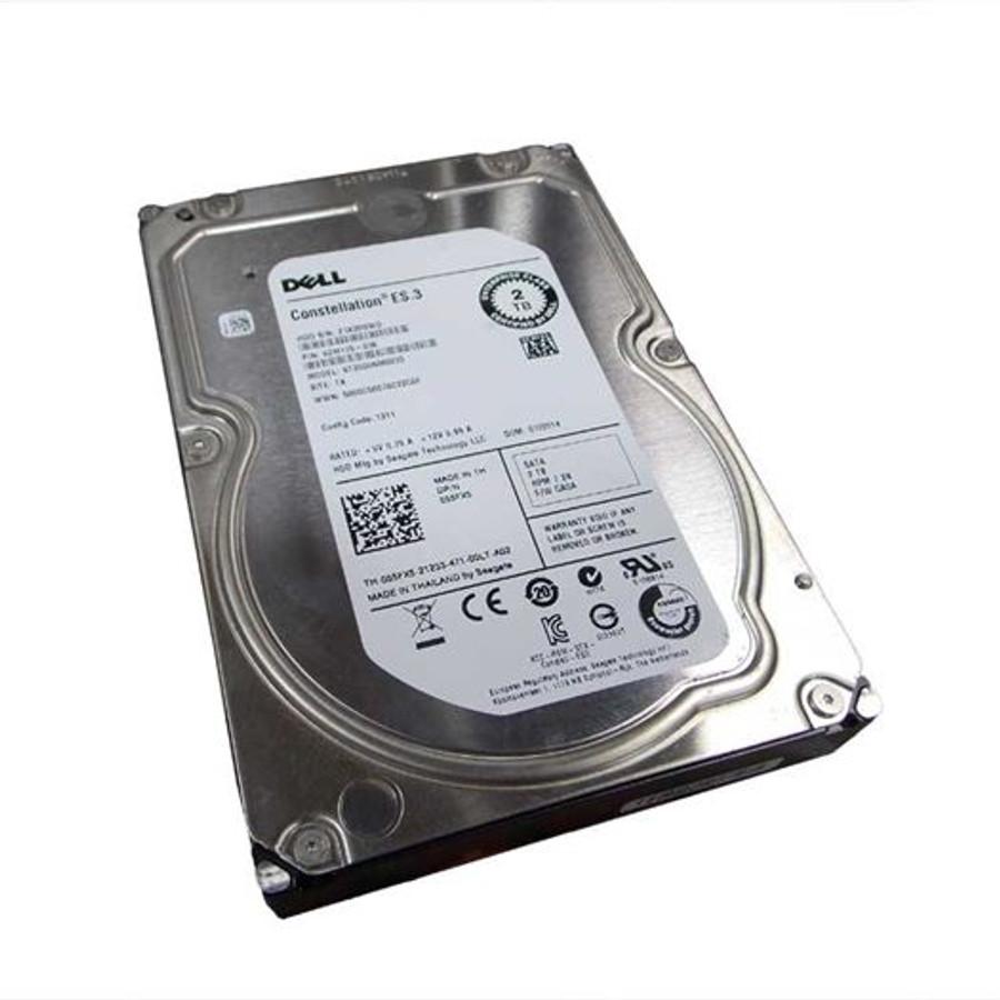 "Dell 55FX5 Hard Drive 2TB 7.2K SATA 3.5"""