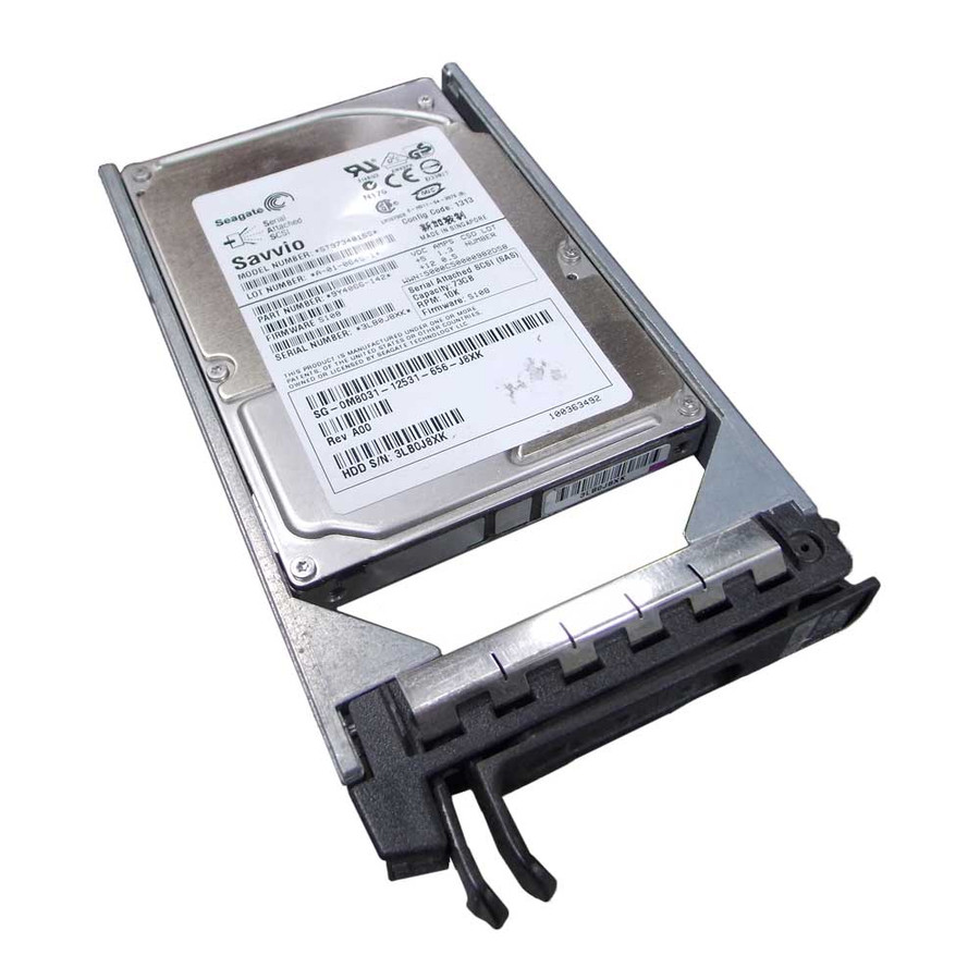 "Dell M8031 Hard Drive 73gb 10k SAS 2.5"" in Tray"