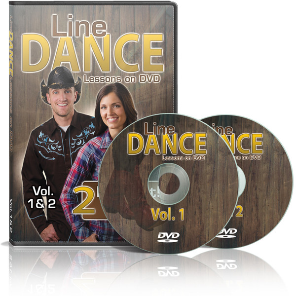 Line Dance Lessons on DVD (Two Disc Set)