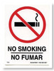 Restroom Decals | No Smoking