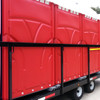Our 6-hauler restroom delivery trailer is manufactured using high-quality steel.  Comes with sides or no sides.