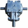 "3 Shaft Gearbox 1:1 Ratio 400 Series with 1 1/4"" Shaft Superior Gearbox"