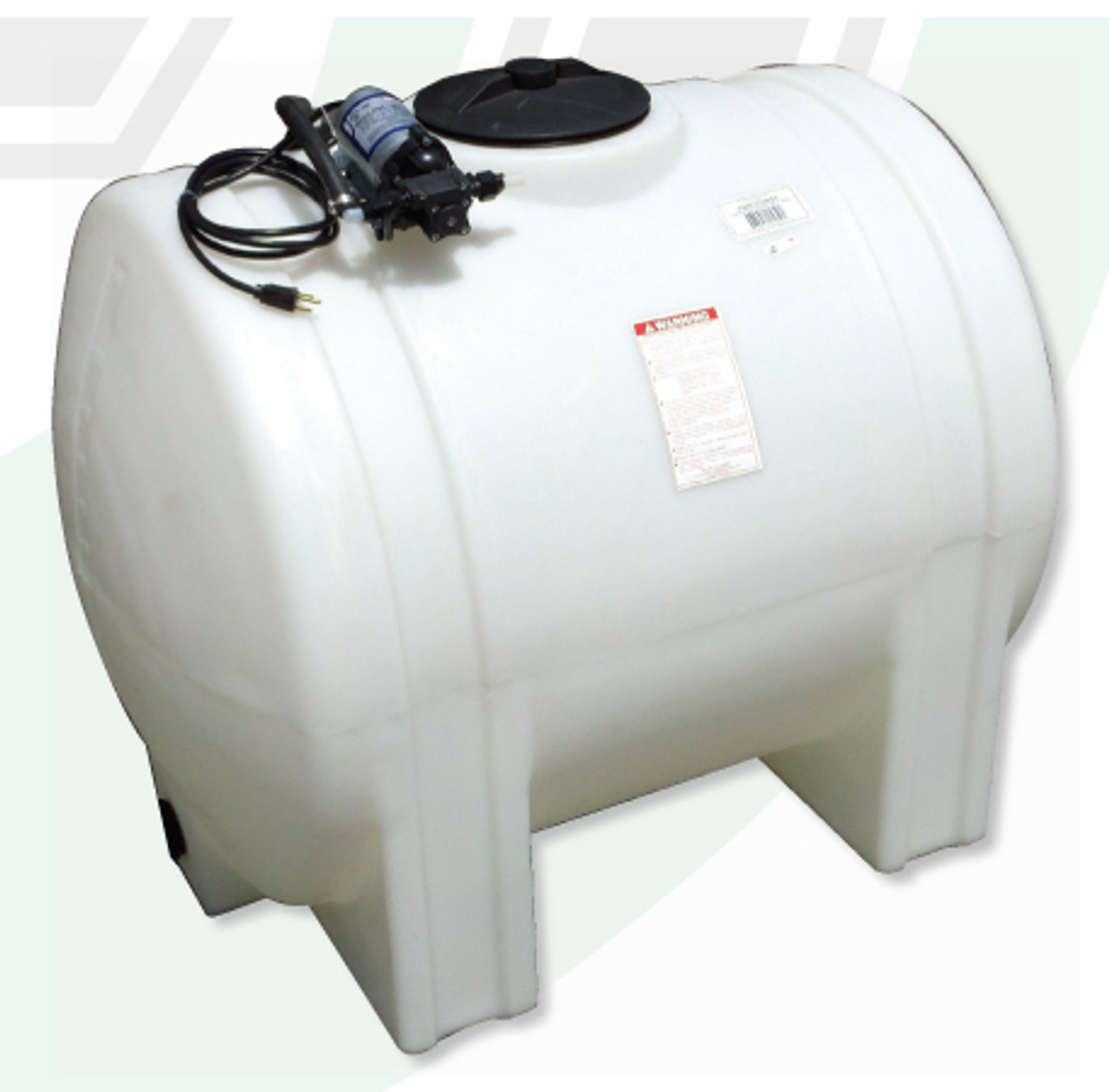 125 Gallon Fresh Water Tank With Pump