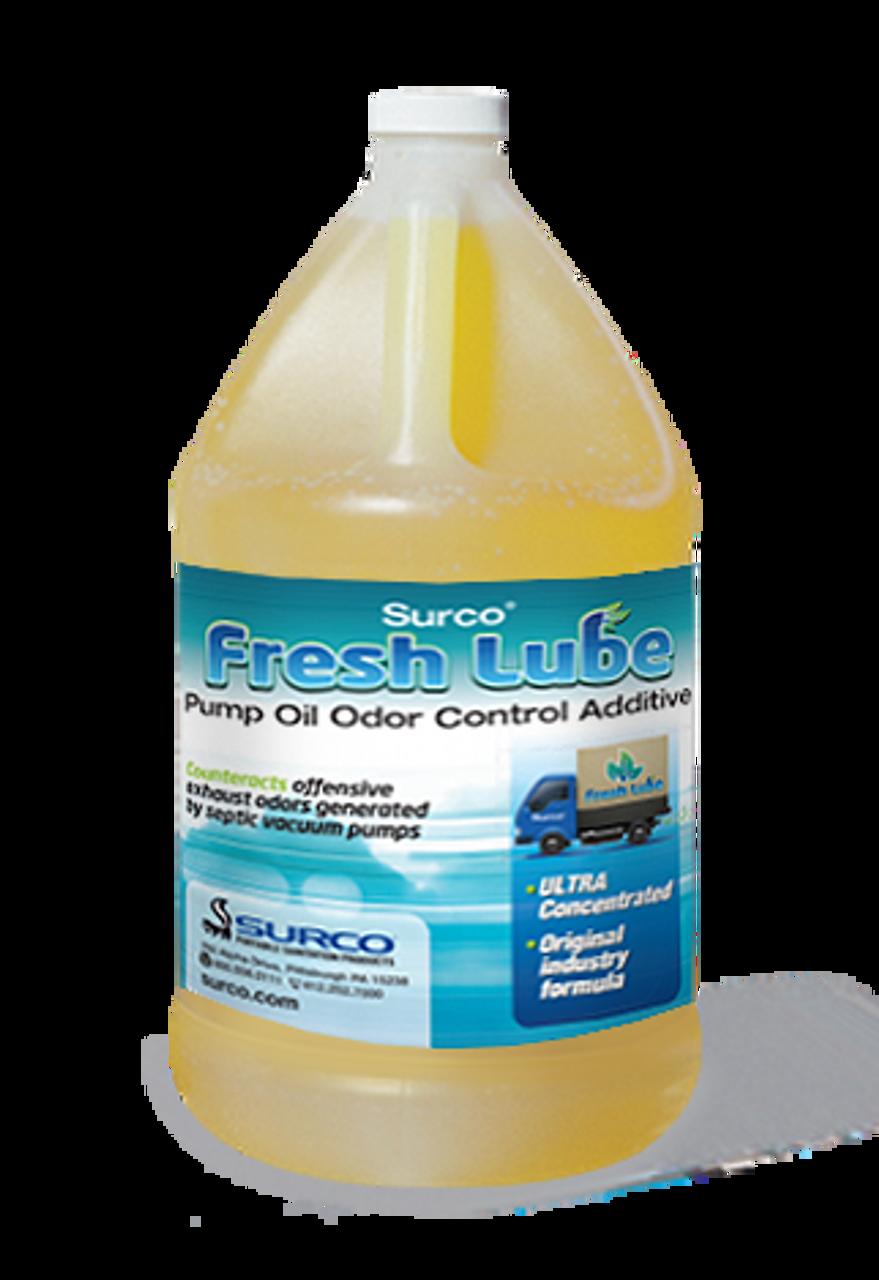 Pump Oil Odor Control Additive for pumper trucks.