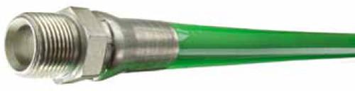 "Series LLGR | Green Cover  |  Jetter Hose  |  4000 PSI  |  1/4""  |  100 FT"