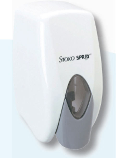 stoko soap dispenser for your portable restrooms.  we also carry soap and stoko hand sanitizer as well which both can be used in this unit.