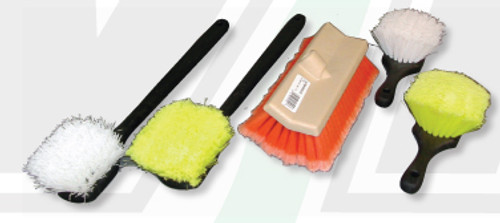 Scrub Brush | Short Handle Firm