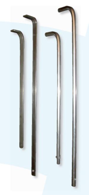 """Round Toilet Tissue Rods   Three-Roll Round Rod 3/8"""""""