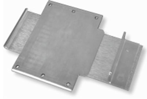 portable restroom parts aluminum door latch bracket
