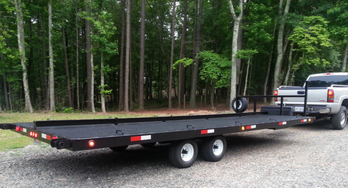 14-Hauler Restroom - Toilet Delivery Trailer | 28 ft.