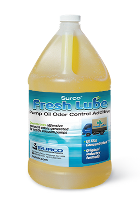 Pump Oil Odor Control Additive for pumper trucks.