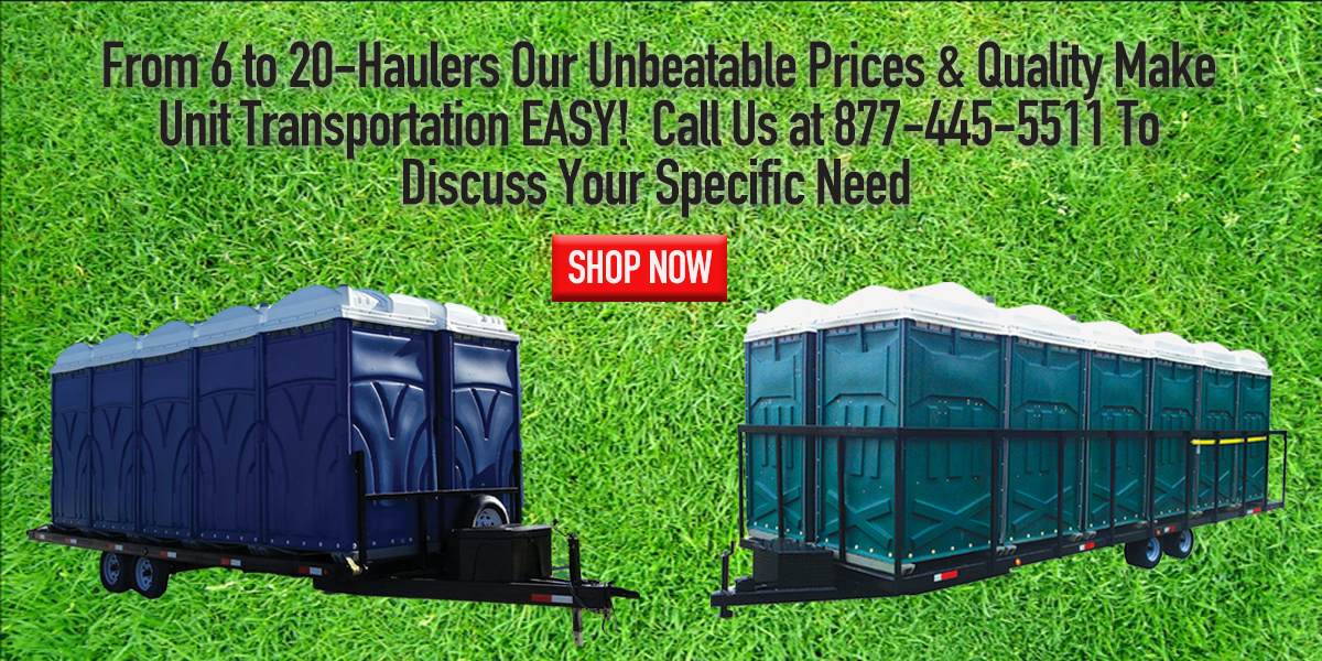 portable restroom trailers