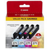 CANON CLI-271 CMYK INK 4-PACK