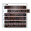 PRINTFILE 35MM NEGATIVE PRESERVER PAGES  - 6FRAME/6STRIPS (100PK)