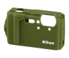 NIKON CF-CP3 SILICONE JACKET FOR COOLPIX W300 (GREEN)