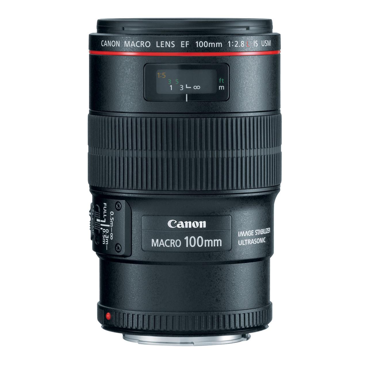 CANON EF 100MM F/2.8 L IS USM MACRO