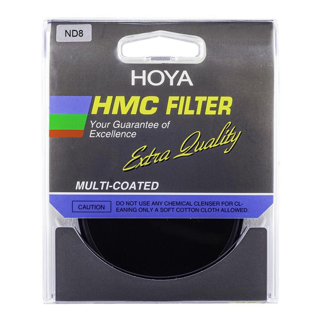 HOYA HMC NEUTRAL DENSITY FILTERS ND8 (3-STOPS)