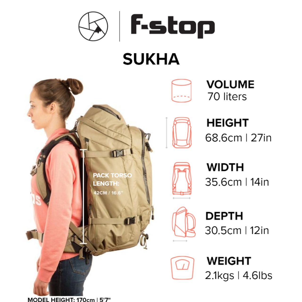 F-STOP SUKHA - 70L