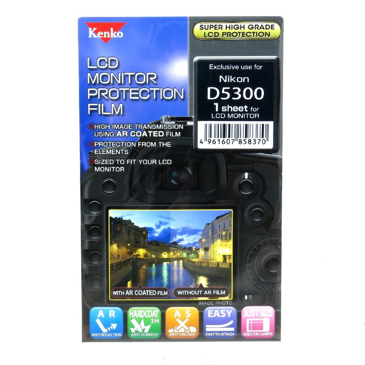 KENKO LCD SCREEN PROTECTOR - NIKON D5300