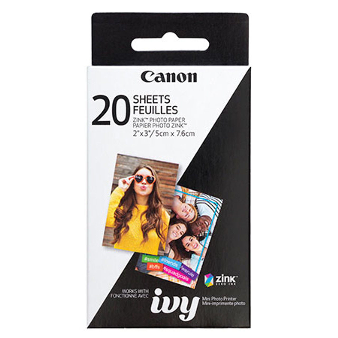 CANON ZINK ZP-2030 PHOTO PAPER PACK (20 SHEETS)