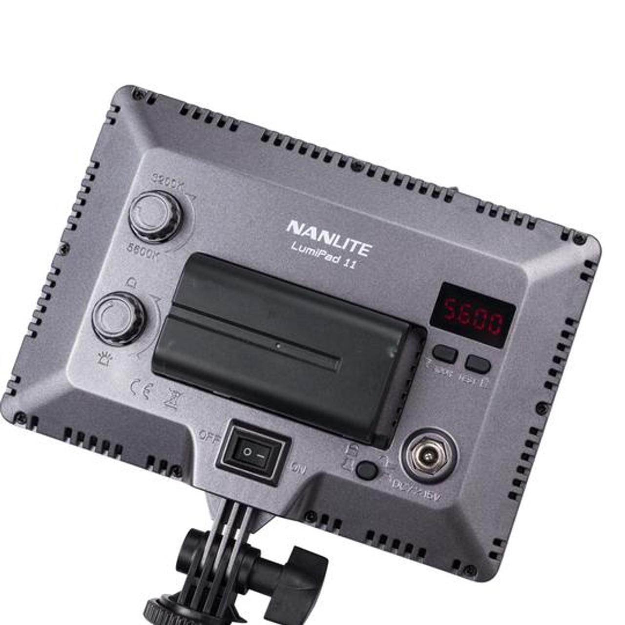 "NANLITE LUMIPAD 11 BICOLOR LED PANEL (7"")"